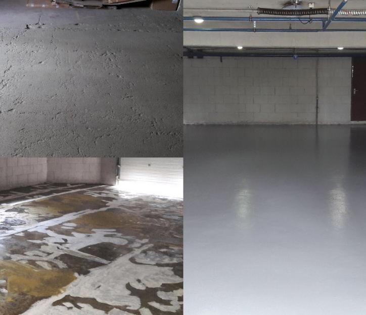 ремонт бетонных и мозаичных полов своими руками